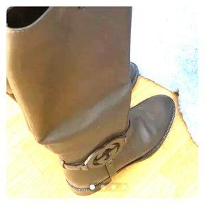 Gucci boots.